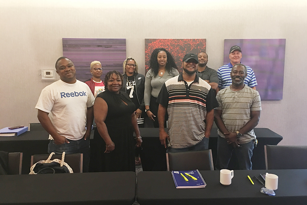 Brooke Training Solutions class August 2018