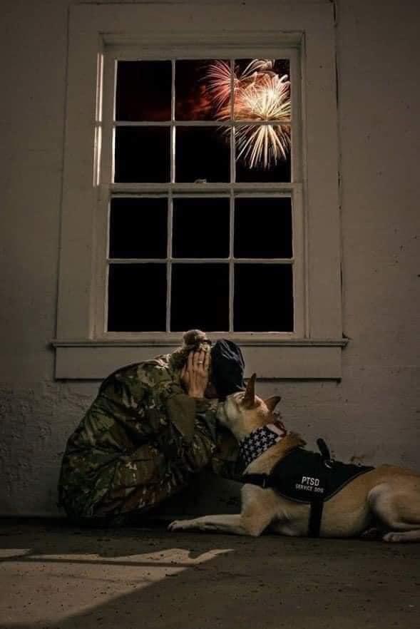 soldier fireworks